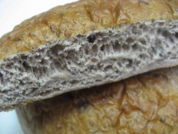小豆パン切り口
