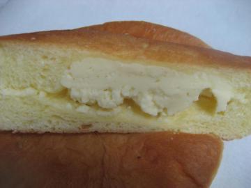 チーズクッキー切り口