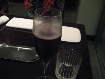 黒ブドウのシャンパン