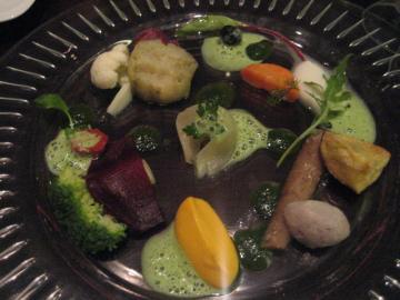 赤城山より直送 秋野菜のオルラーナ 三種のソース