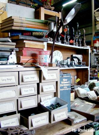 オフィス雑貨も充実のGLITTERさん倉庫