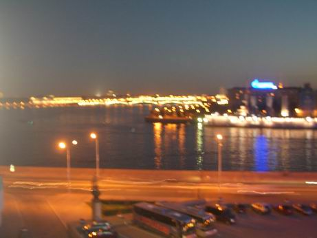 ペテルブルクホテルからの夜景