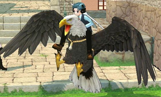 荒ぶる鷹のポーズ