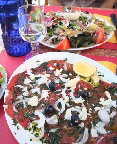 リル・シュル・ラ・ソルグのレストラン