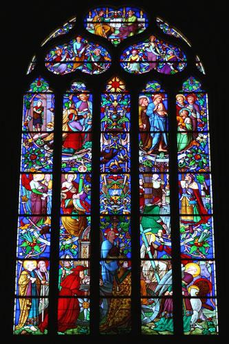 Aix-en-Provenceのステンドグラス