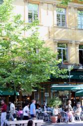 ミラボー大通りにあるカフェ(エクス・アン・プロヴァンス)
