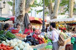 Aix-en-Provenceのマーケット
