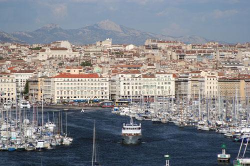 Marseilleの旧港