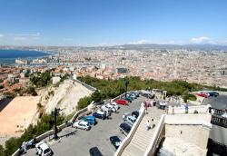 Marseilleのノートルダム聖堂