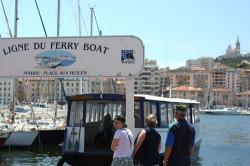 Marseilleのフェリー