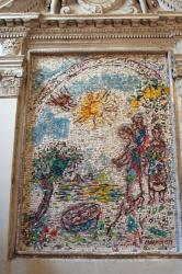 大聖堂にあるシャガールのモザイク(ヴァンス)