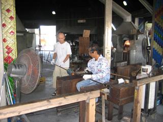 手作り琉球ガラス