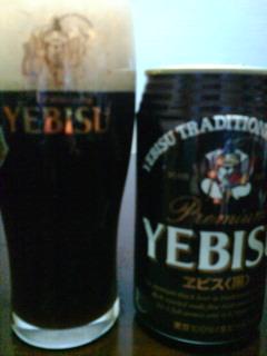 黒ビールも好きなの^^