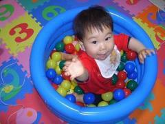 ミニボールプール 1歳2ヵ月