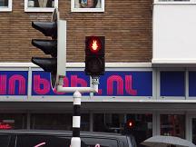 ミッフィー 赤信号