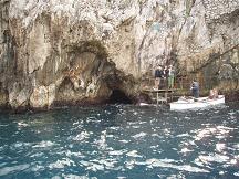 青の洞窟入口