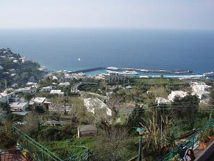 カプリ島風景