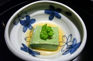 蓬胡麻豆腐