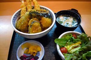 カレー風味天丼1