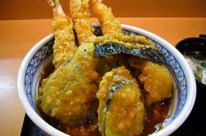 カレー風味天丼2