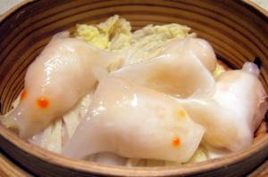 金魚型蒸し餃子