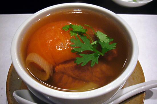 トマトと牛肉のスープ