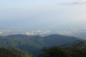 六甲山頂風景