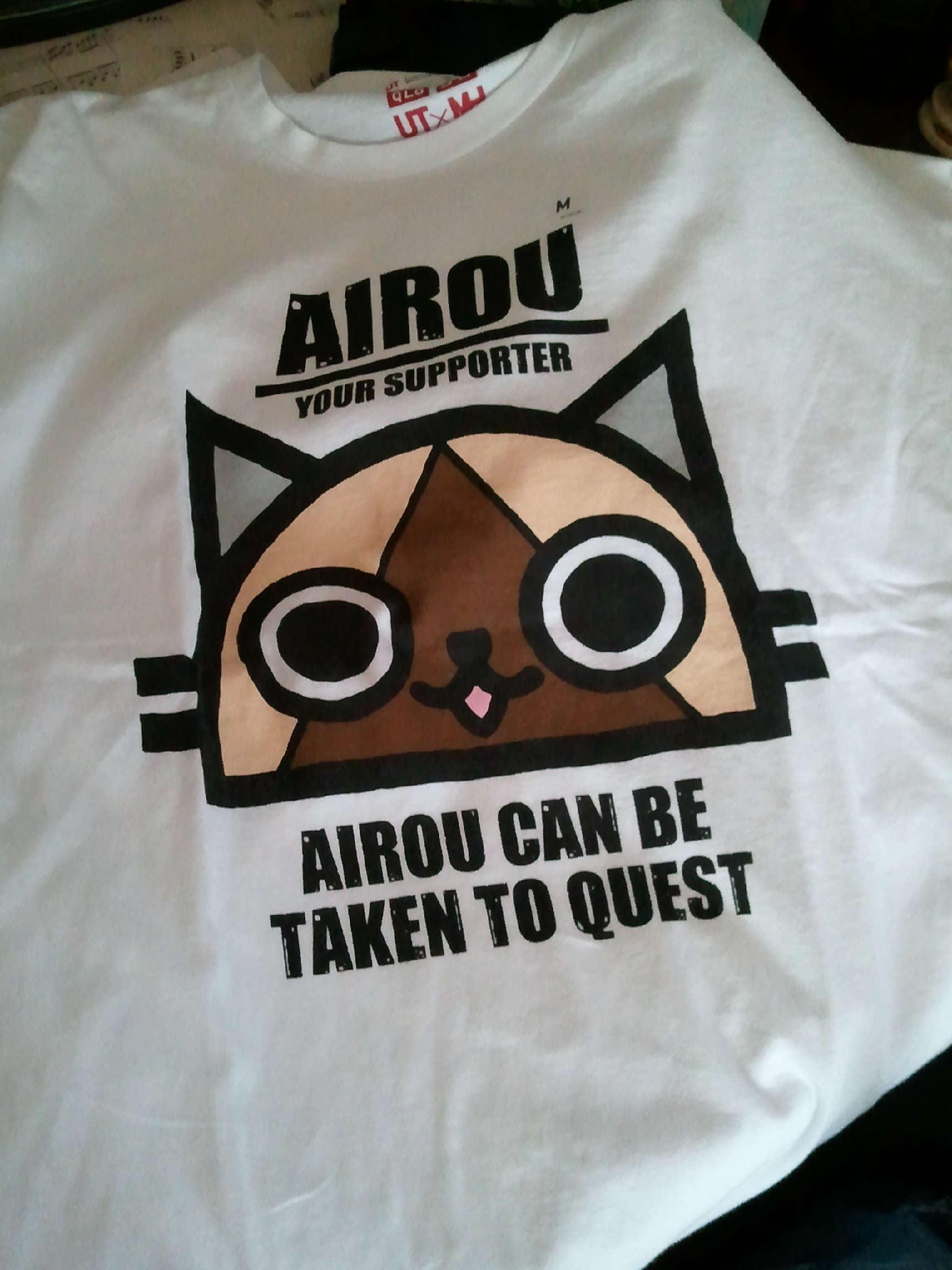アイルーのTシャツ