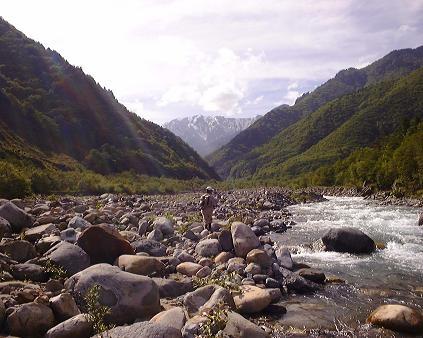 初夏の川(2000年)