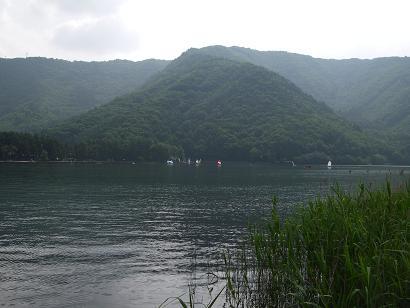 近所の湖(2007年7月)