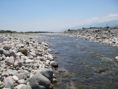 渇水の川 その2