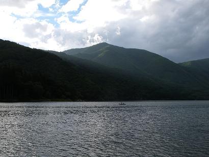 近所の湖(2007年9月17日)