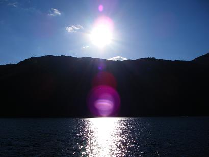 沈んでゆく太陽