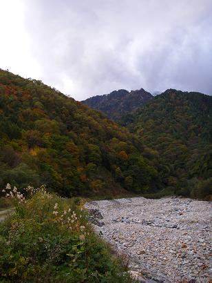 紅葉の山 その3