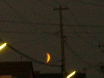 皆既月食。