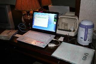 パソコン繋がらず