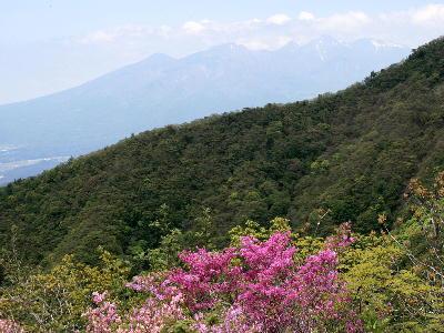 八ヶ岳方面