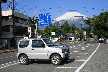 山中湖駐車場