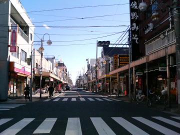 ふる川 通り商店街
