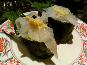 すし松 (白魚)