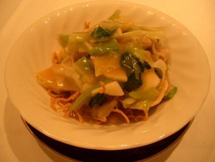 あんかけ焼き麺