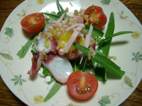 エンサイと蛸のサラダ