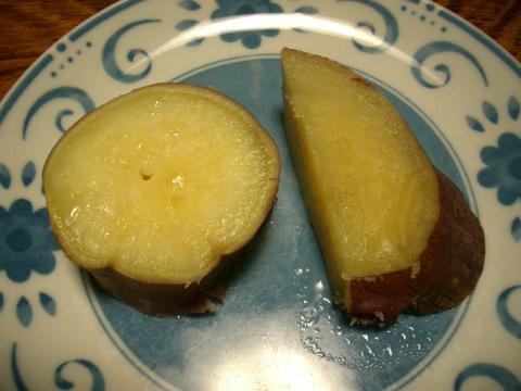 蒸しサツマイモの判定はいかに…?
