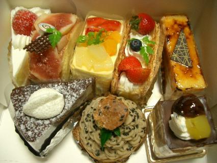 萬春堂のケーキ 2007-10-31 19-38-50