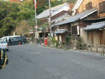 古い町並み…