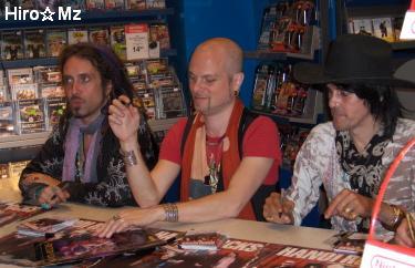 Hanoi Rocks サイン会
