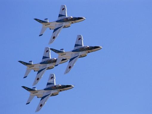 ブルーインパルス(中等練習機T-4)その2