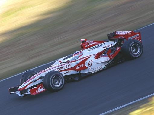 スーパーアグリ F1 SA07 佐藤琢磨選手