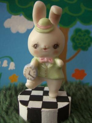 緑ウサギ1