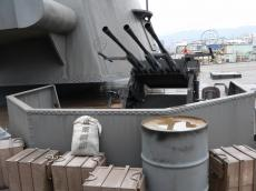 大和セット「入口の機銃と主砲」